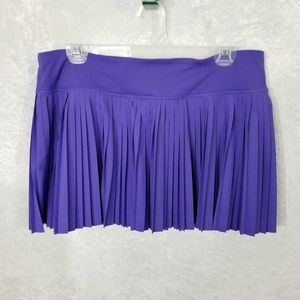 Lululemon Pleat to Street Skirt II Skort Sz 10
